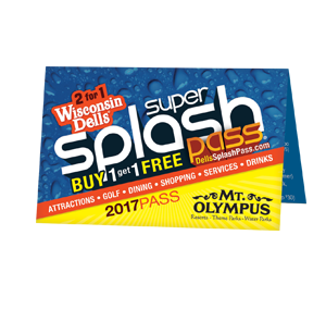 Super Splash Pass 2-for-1 Discount Card