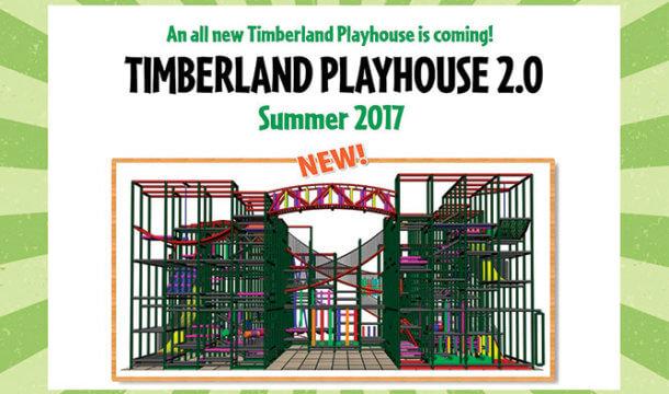 Timberland Playhouse 2.0 Coming to Wilderness Resort