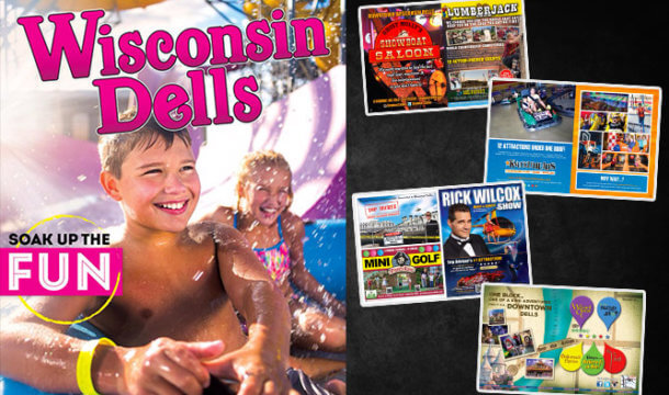 Check out the all new 2017 Wisconsin Dells Travel & Attraction Guide!