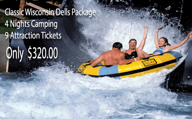 CLASSIC WISCONSIN DELLS CAMPING PACKAGE