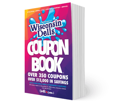 Wisconsin Dells Coupon Book - Over $13,000 in Savings