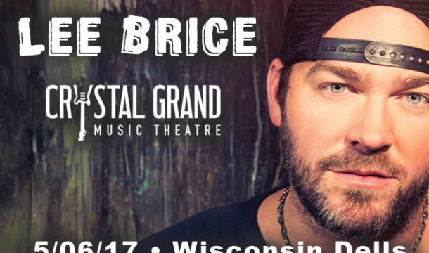 Lee Brice is Coming to the Crystal Grand!