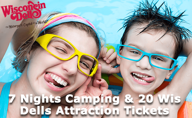 Dells Camping and Adventure Package