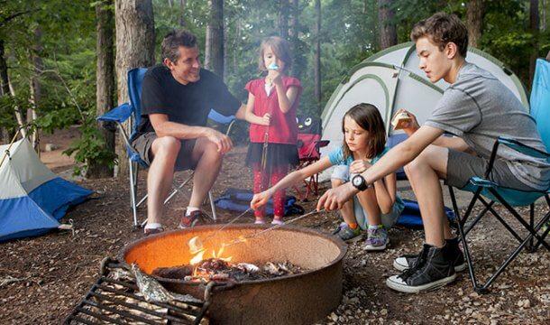 Campfire Sittin'