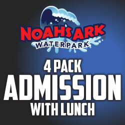Noah's Ark – 2018 Black Friday Family 4 Pack W/ Meals