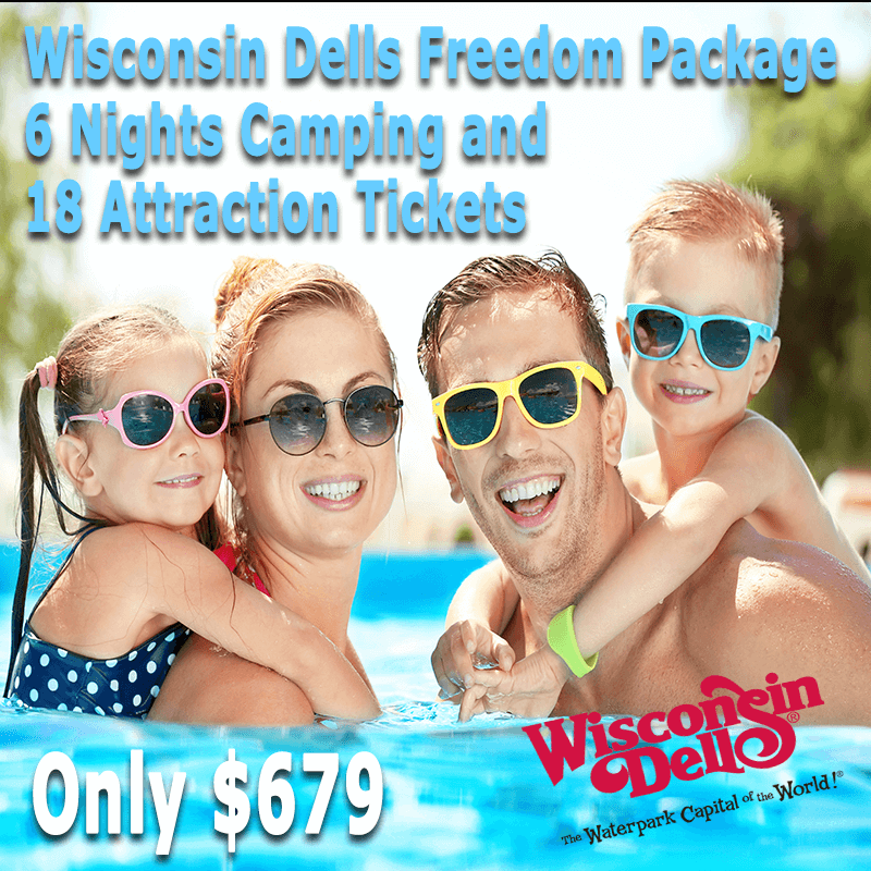 WISCONSIN DELLS FREEDOM PACKAGE