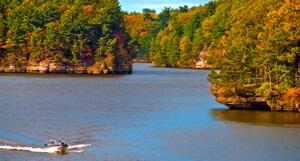 Wisconsin River - Autumn