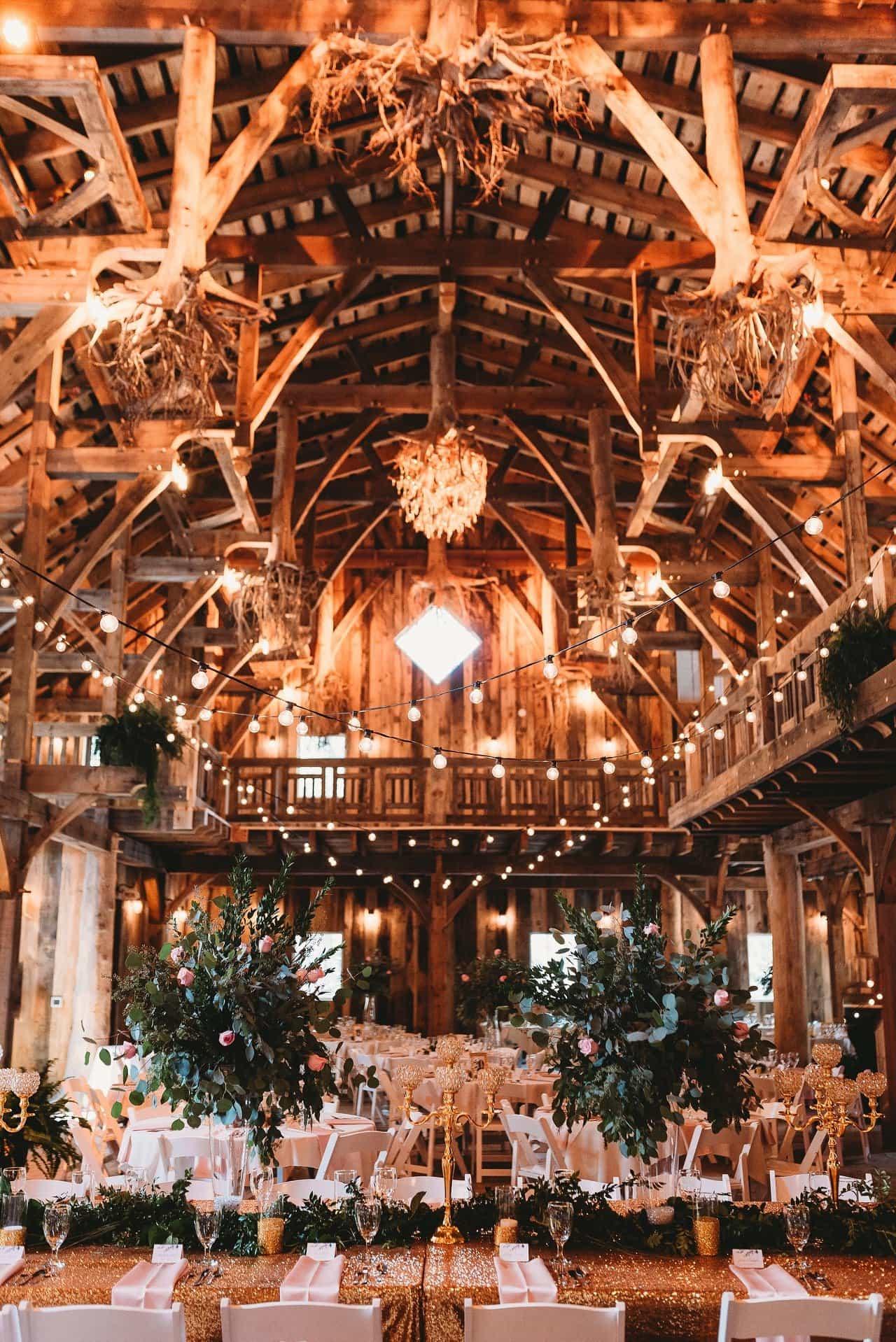 Swan Barn Door Hall