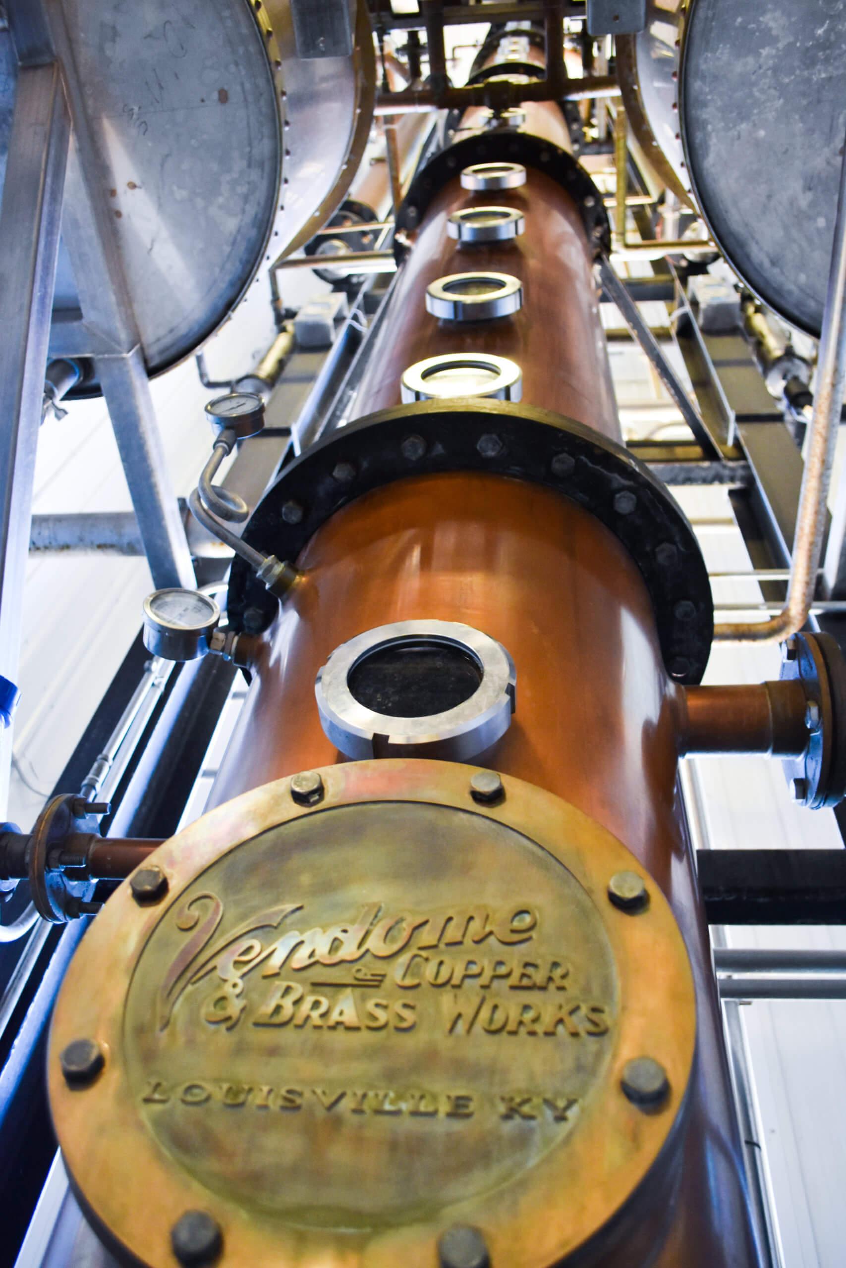 Driftless Glen's 10,000 pound, 44 foot tall column still